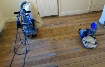 wood flooring restoration in Bow West E3
