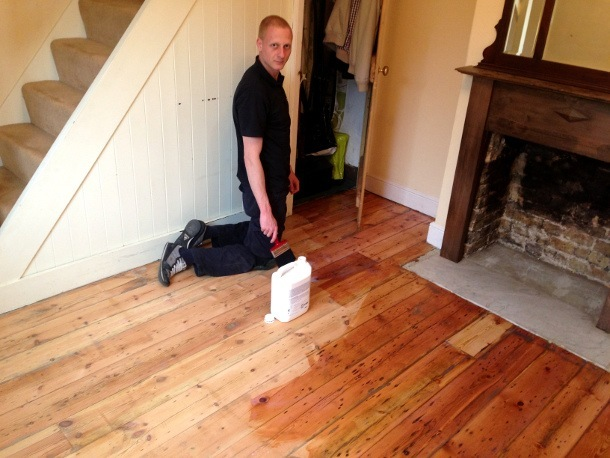 floor sanding in lambeth
