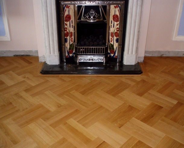 wood floor sanding in hackney