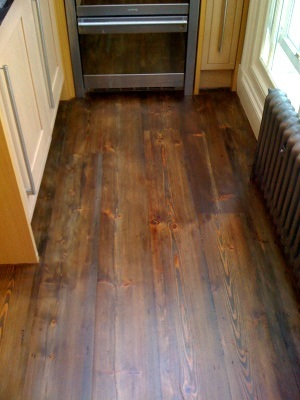 professional floor sanding in East Putney