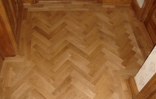 parquet sanding Swiss Cottage