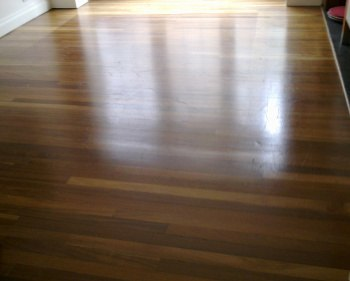 Grove Green wood floor sanding