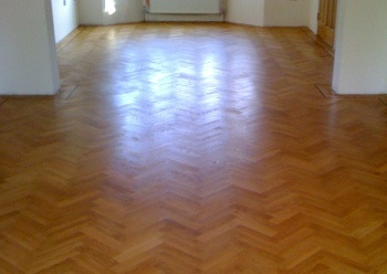 Lea Bridge floor sanding