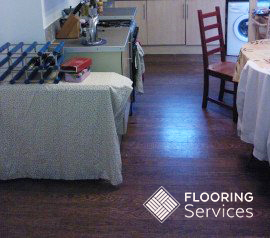 professional wood floor staining in london