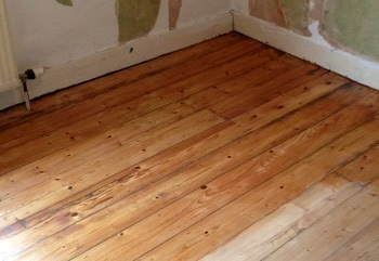 wood floor finish Cubitt Town E14
