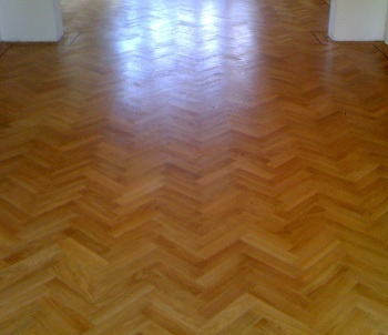 expert floor sanding in St James's Park
