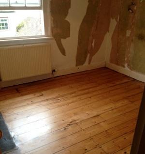 Wood Floor Restoration in Southwark